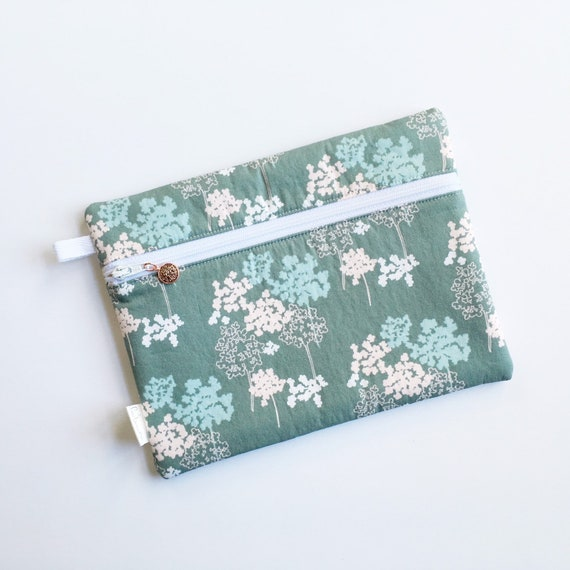 Rectangle Pouch Pencil Case // Abundant Galvanize