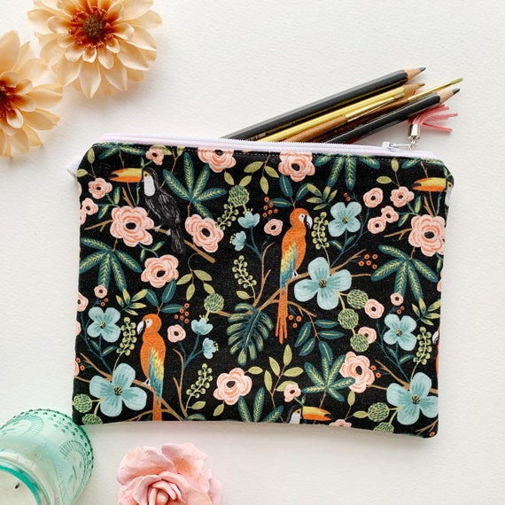 Rectangle Pouch // Jungle