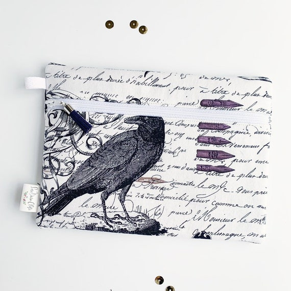 Rectangle Pouch Pencil Case // Nevermore