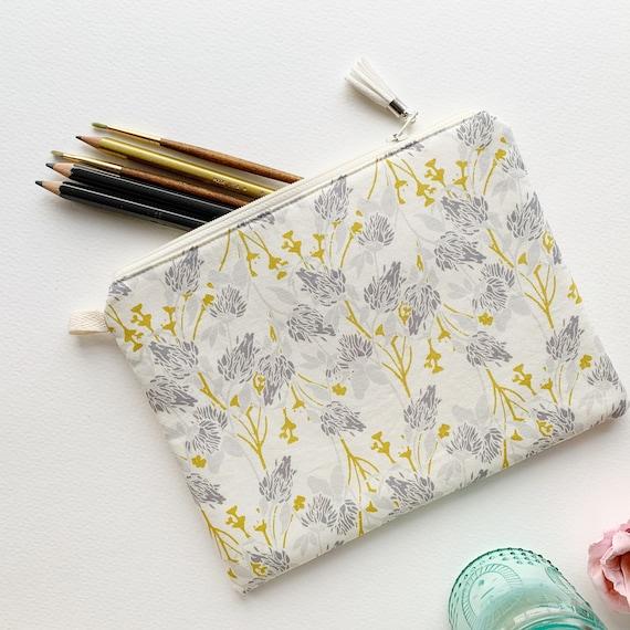 Rectangle Pouch Pencil Case // Clover