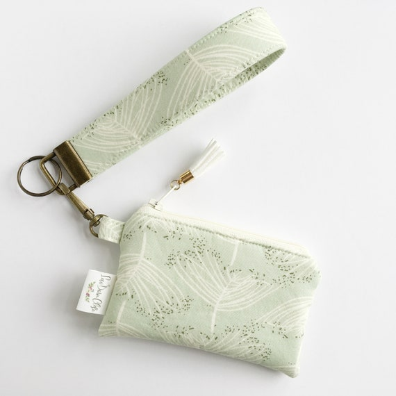 Keychain Pouch // Champagne Mint