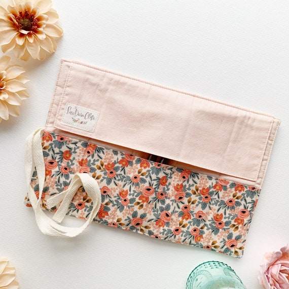 Shorty Pen Roll // Rosa in Peach by Rifle Paper Co