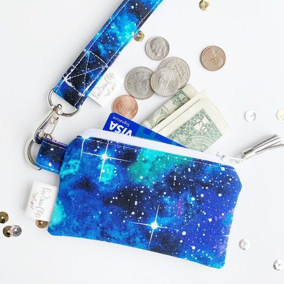 Keychain Pouch // Galaxy