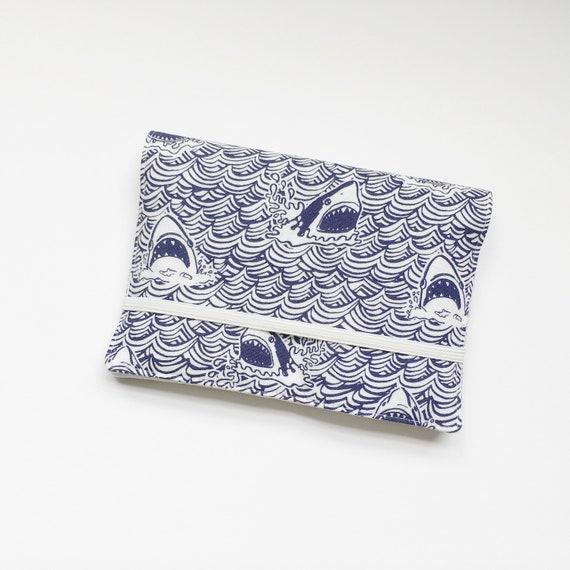 Crayon Wallet // Sharks