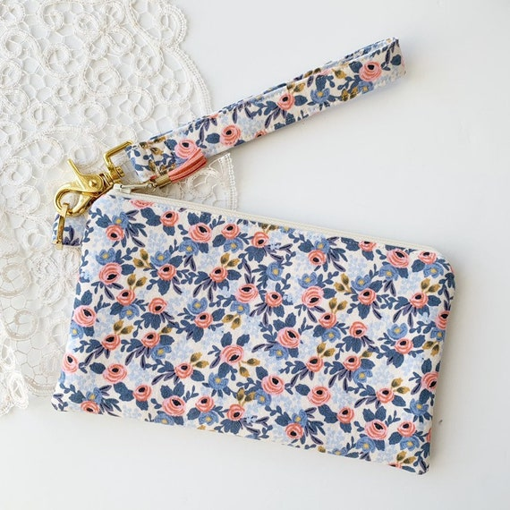 Large Keychain Pouch // Rosa