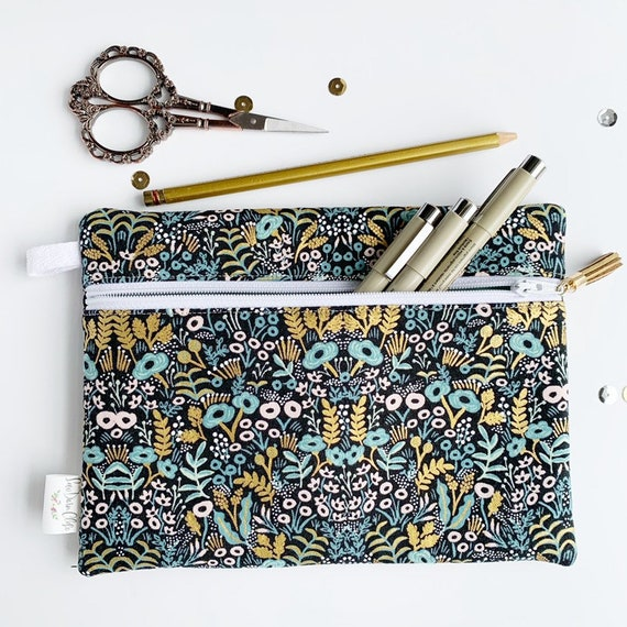 Rectangle Pouch Pencil Case // Rifle Paper Co Tapestry