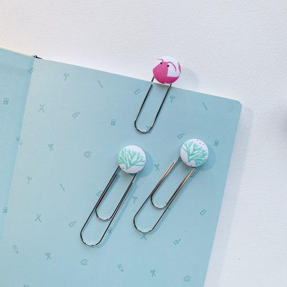 Bookmarks/Planner Clips Set