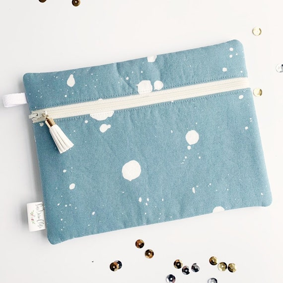 Rectangle Pouch Pencil Case // Speckled