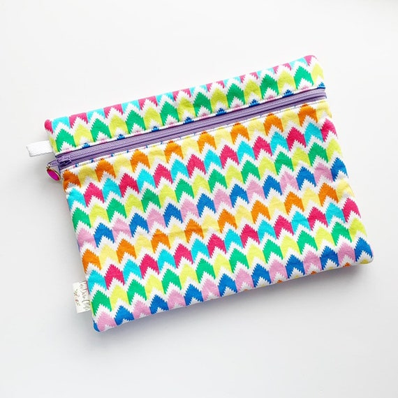 "10"" x 8"" Front Zippered Pouch *discontinued size*"