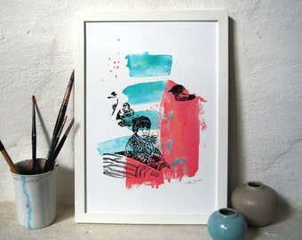 Swanlake / Giclée Print