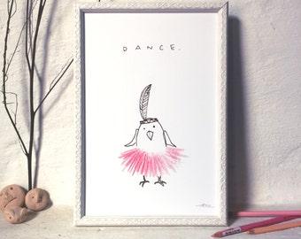 DANCE / Giclée Print