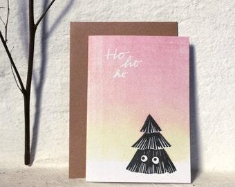 Ho ho ho / Christmas card