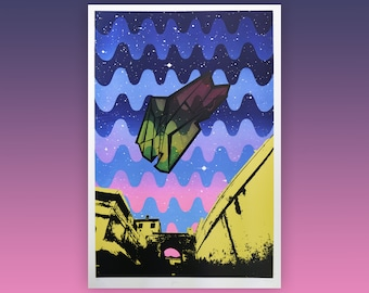 Aphra large screen print