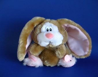 Vintage Bunny Lop Eared Rabbit Stuffed Animal By Chosun Fluffy Etsy