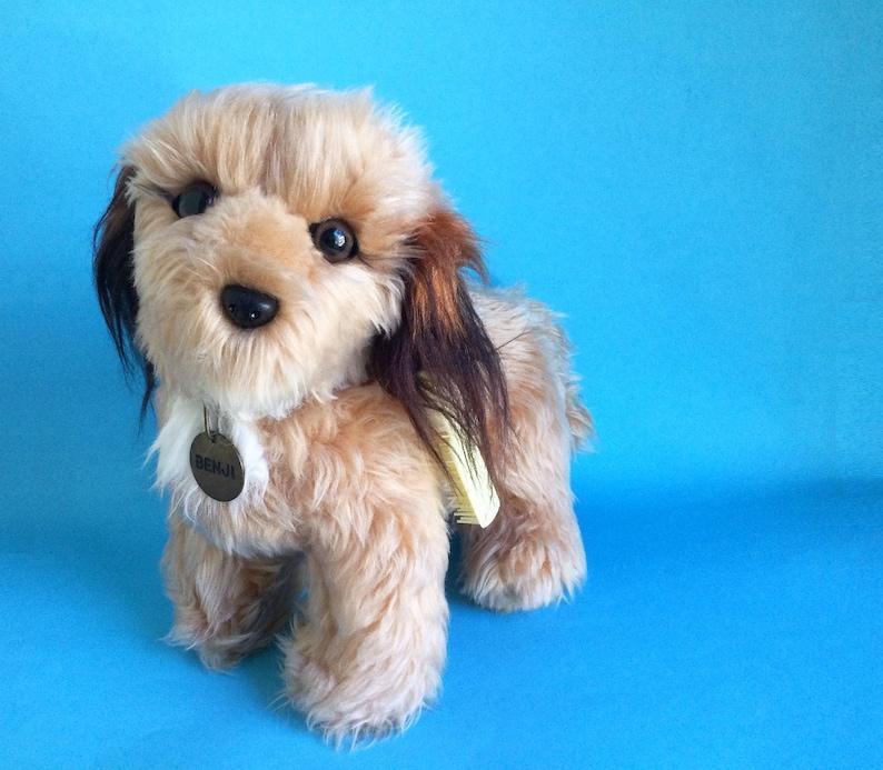 Large Benji Dog Stuffed Animal original brush R Dakin image 1
