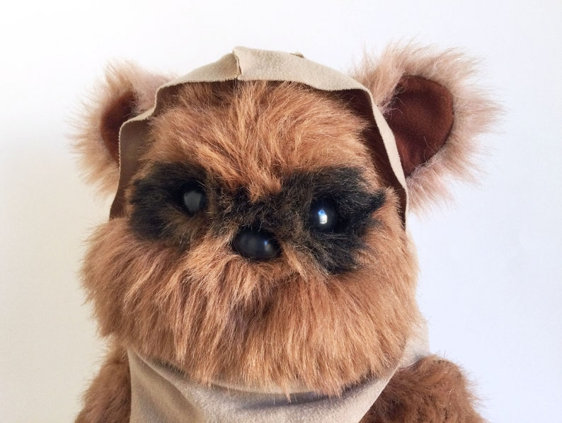 Vintage Ewok Wicket Teddy Bear Star Wars Return of the image 1