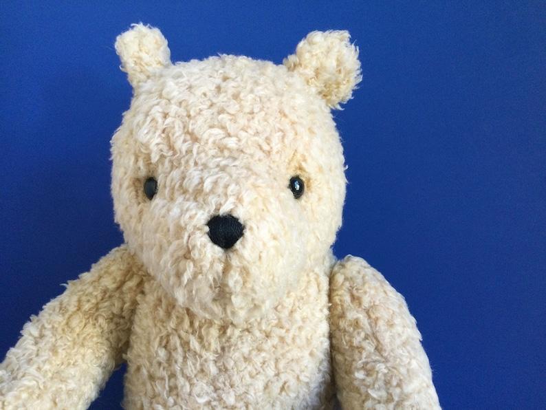 Vintage Large Winnie the Pooh Teddy Bear Stuffed Animal image 1