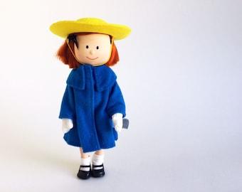 Vintage Madeline Doll, Action Figure, 1990s Toys, 1996
