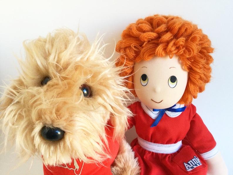 Little Orphan Annie Sandy Dog Doll Stuffed Animal image 1
