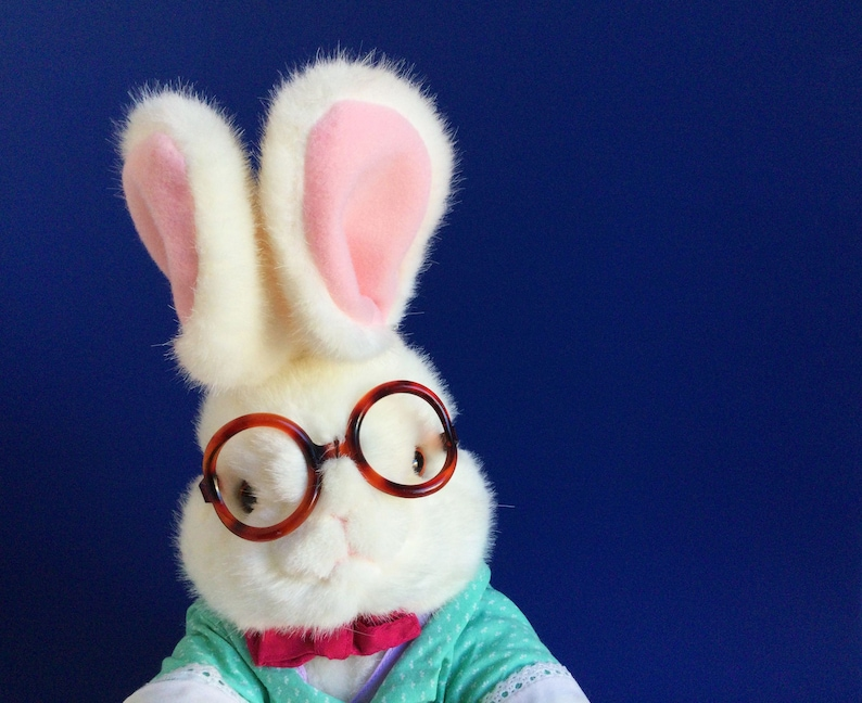 White Rabbit Stuffed Animal Alice in Wonderland Target image 1