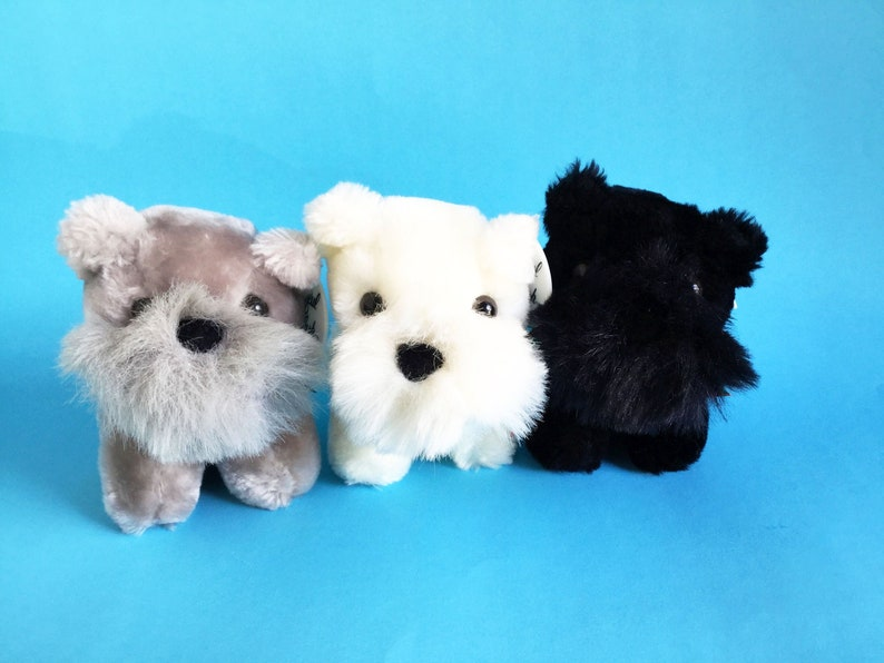 Set of 3 Dogs Scottish Terrier West Highland Terriers image 1