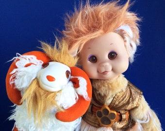 Wonder Whims, Jadoo Doll, Rambumptious Sheep, Doug and Debby Henning, 1980s Toys, Stuffed Animal, 1985, Vintage Plush