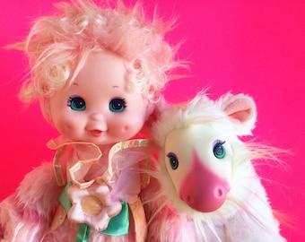 Wonder Whims, Raindrop Doll, Abracazebra Zebra, Doug and Debby Henning, 1980s Toys, Stuffed Animal, Vintage Plush, 1985