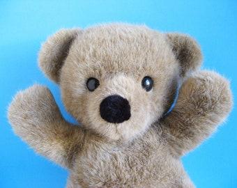 Large Teddy Bear, Dakin, Cuddles, 18 inches, stuffed animal, 1990s Toys, 1990, Vintage Plush