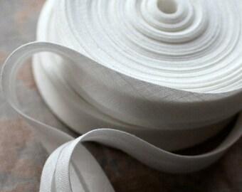 Linen bias tape -- width 1.5 cm and 2 cm