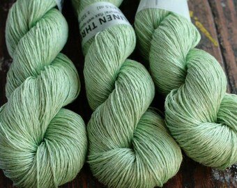 Linen yarn - 4-ply - fingering -- 008