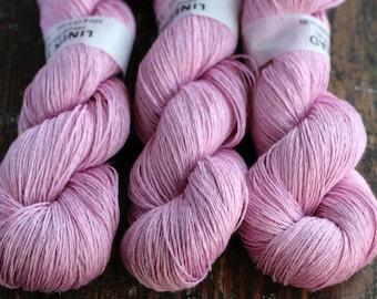Linen yarn - 4-ply - fingering -- 009
