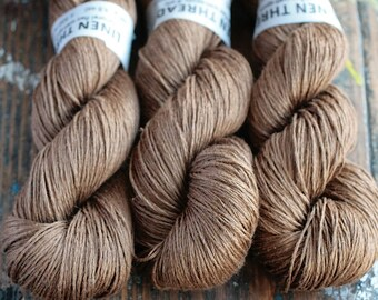 Linen yarn - 4-ply - fingering -- 004