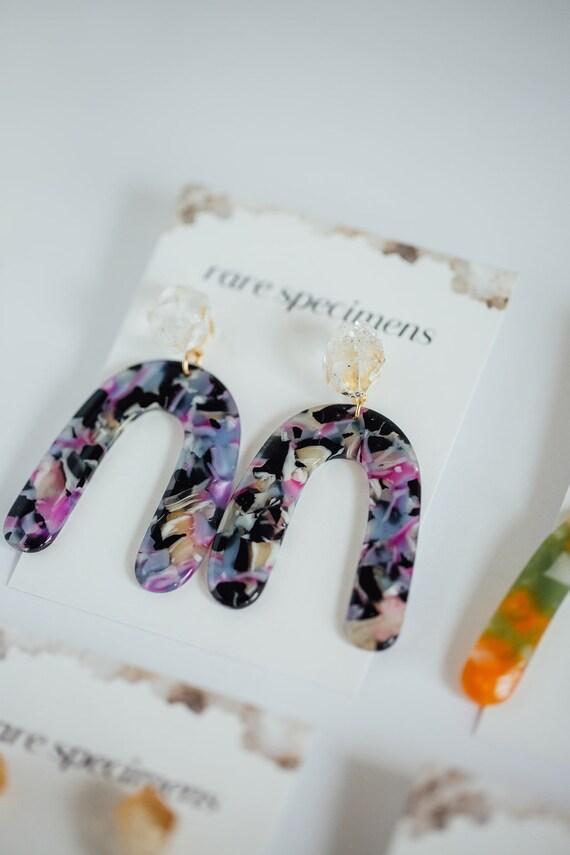Rare Specimens – Large Crescent Drops – Purple