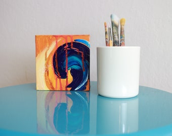 Abstract Painting - Small Works - Rage 3