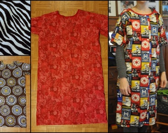 Adult Hospital Gown, Ready to Ship, size Young Adult/Adult Small