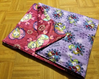 Semi Custom Weighted Blanket - Frozen - Size SMALL - You choose weight.