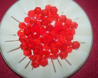 3 oz Bag of Hard Candy Jewels Gem Diamond Emerald Ruby