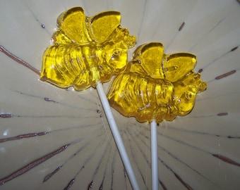 8 Piece Spring Bumble Bee Lollipop Sucker  Party Favor
