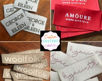 Woven Labels and Ribbons