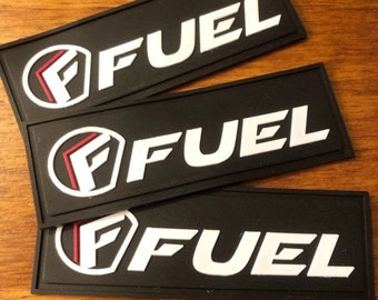 """100 PVC patches - Custom Rubber Patches - up to 3 colors - up to 3""""x3"""" - Made in USA"""