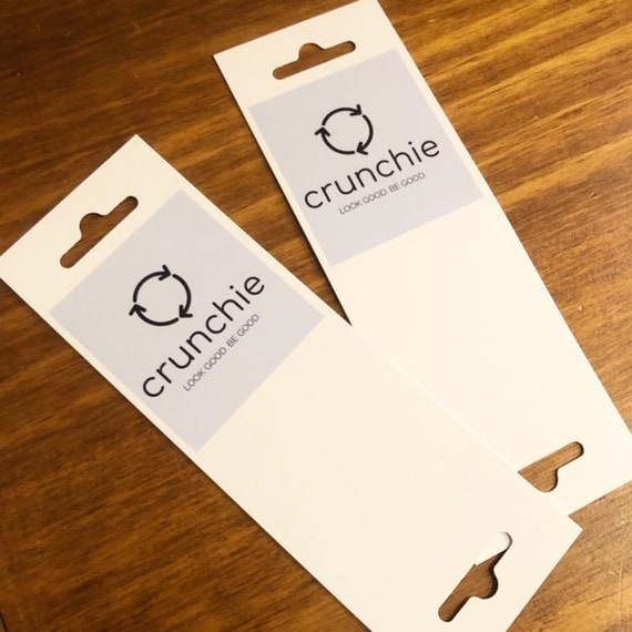 Holders Packaging 100 Custom Printed  Accessory Cards Jewelry Display Cards