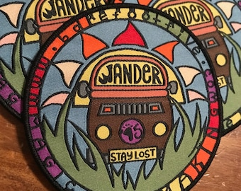 """ONE Custom Patch - Up to 3.5"""" x 3.5"""" - Your own artwork - Up to 10 Colors - A USA Company - Single Woven OR Printed Patch"""