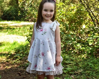 MCM Studio Designs Kay-Kay's Suncatcher Dress PDF Sewing Pattern
