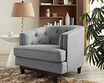 Leentu Lounge Chair Mid Century Modern Classic Design
