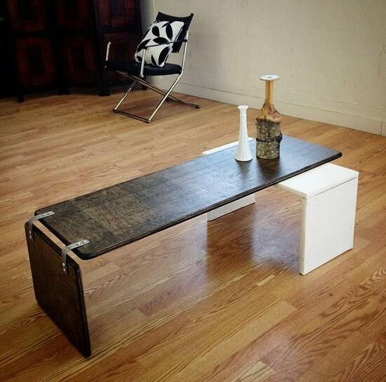 Ply Bak Pivot Table Mid Century Modern Coffee Table