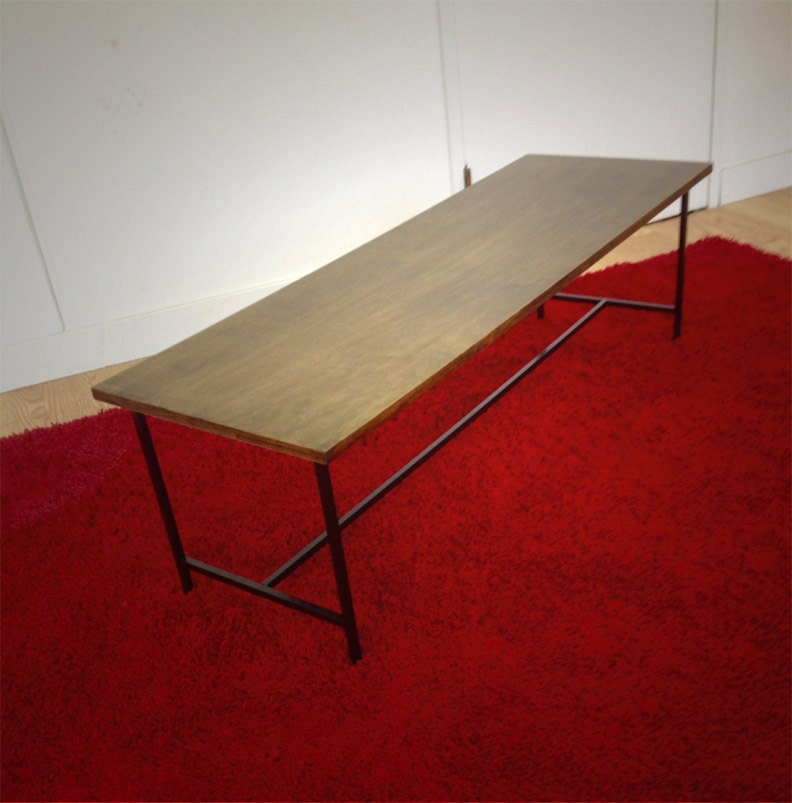 Haywood Coffee Table Mid Century Occasional Table Planner