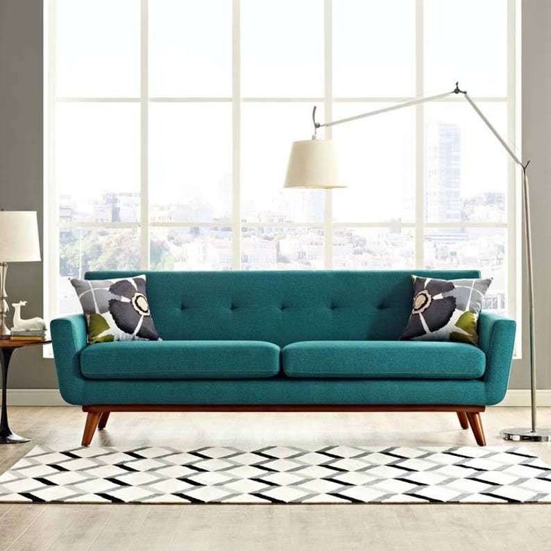 ENGAGE Sofa Mid Century Modern Style sofa in 5 colours Ready to ship!
