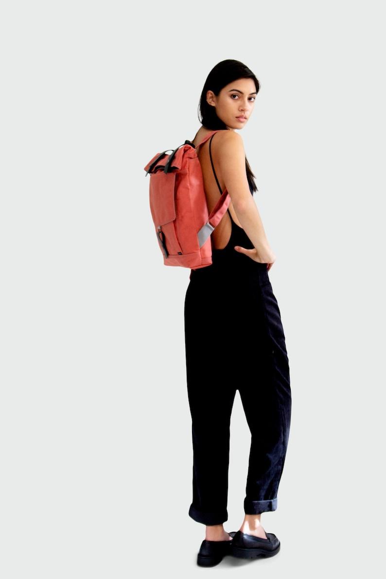 water resistant backpack Backpack no.1 in GRAPEFRUIT