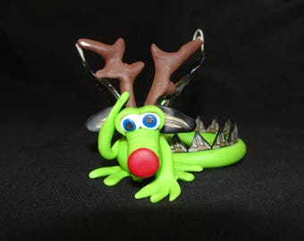 Is it Rudolph Dragon? FREE SHIPPING