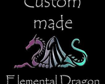 Dragon of your own-  Custom made Elemental Dragon